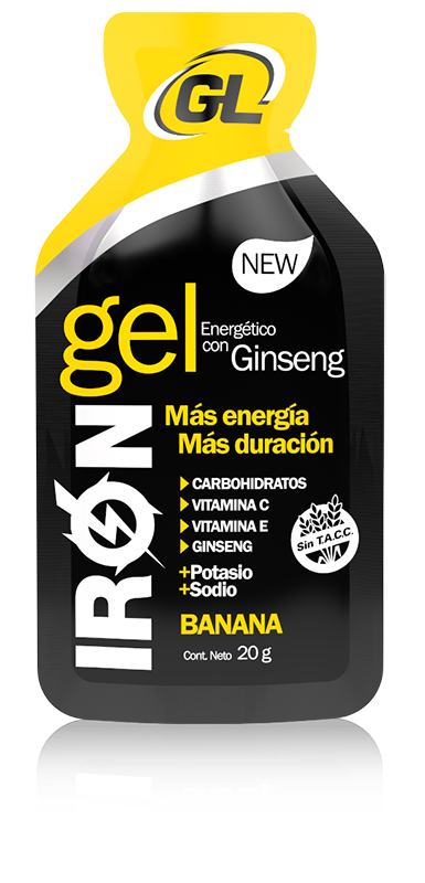 IRON GEL NEW - Banana