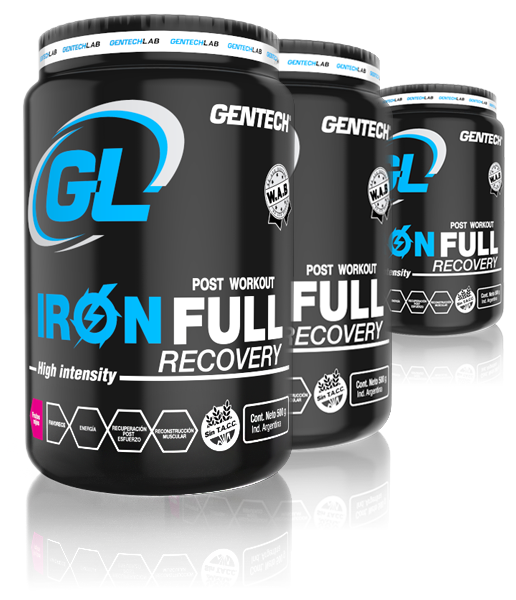 Suplemento Iron Full Recovery Gentech