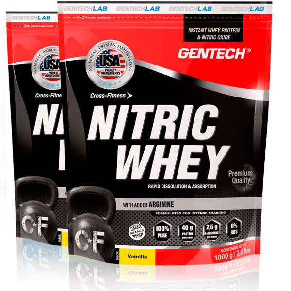 Nitric Whey Gentech producto