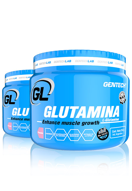 Suplemento Glutamina Gentech