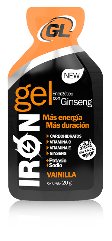 IRON GEL NEW - Vainilla