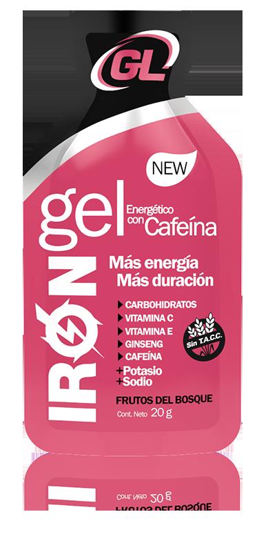 Iron Gel Cafeína Frutos del Bosque