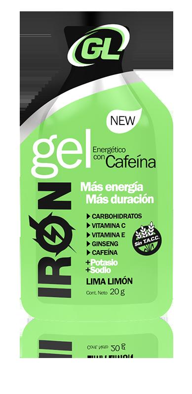 Iron Gel Cafeína Lima Limón