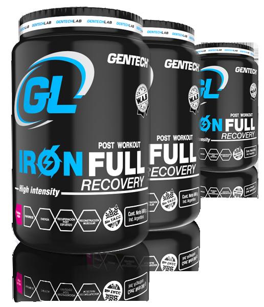 Suplemento Iron Full Recovery Gentech
