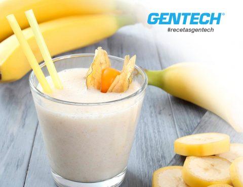 RecetasGentech: Licuado de banana con Whey Protein