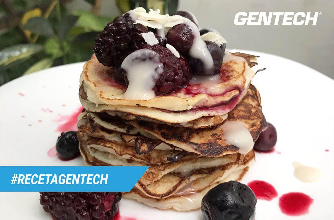 Receta Gentech Pancakes