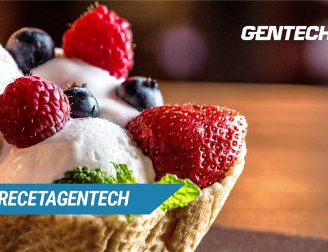 #RecetaGentech: Helado de Frutos Rojos con Whey Protein 7900.