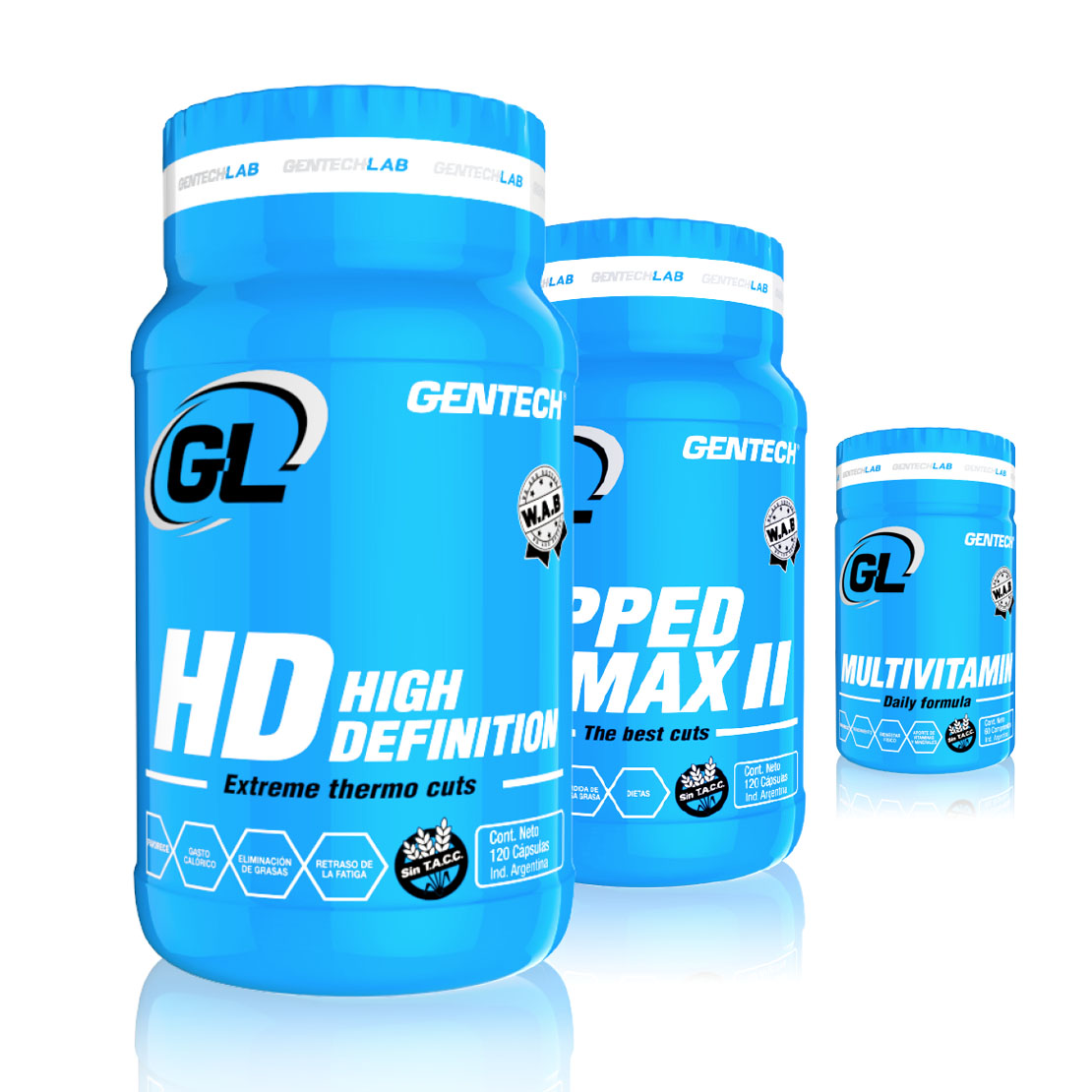 ripped max hd multivitamin combo 1 gentech