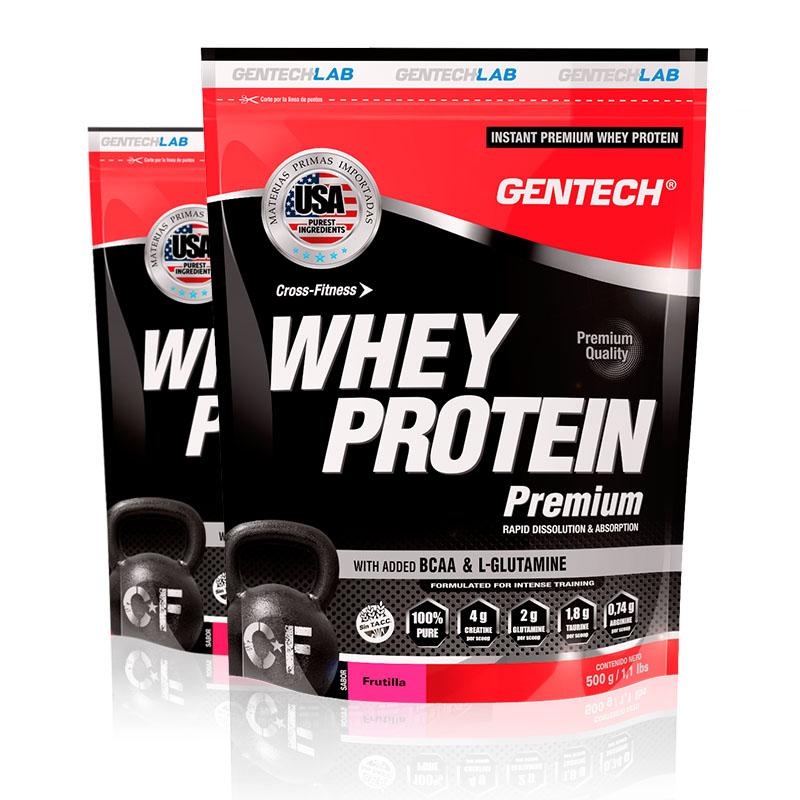 whey protein premium frutilla