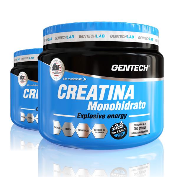 Gentech Suplementacion Deportiva Proteinas Aminoacidos Quemadores_0019_CREATINA MONOHIDRATO - 20x27 - 500g