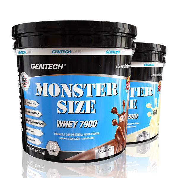 Monster Size Whey Protein 7900 5 Kgr