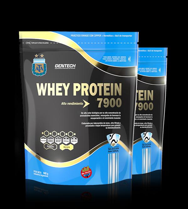 Gentech Suplementacion Deportiva Proteinas Aminoacidos Quemadores_0010_Whey Protein 7900 AFA - Banana - 500g