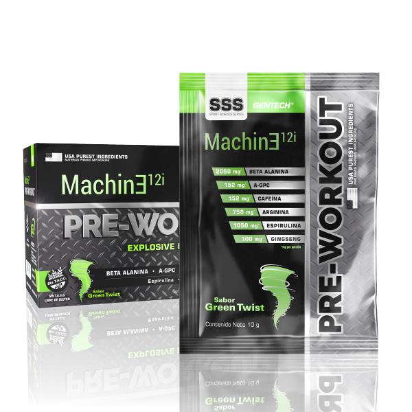 Pre-workout Machine Gentech