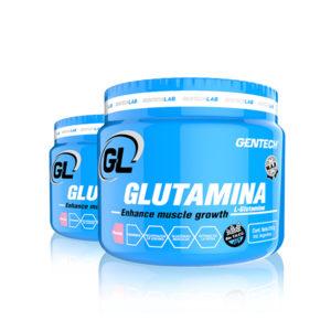 Glutamina Gentech Suplementacion Deportiva Proteinas Aminoacidos Quemadores