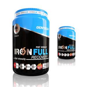 Recuperador físico para después de un período de estrés muscular característico de los entrenamientos extenuantes. IRON FULL GENTECH