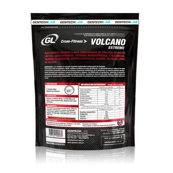 VOLCANO EXTREME Con alta concentración de aminoácidos esenciales