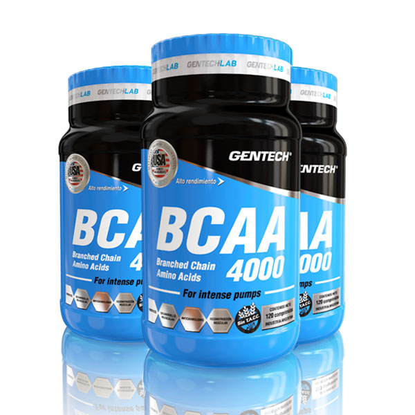 Aminoacido esencial BCAA 4000 Gentech