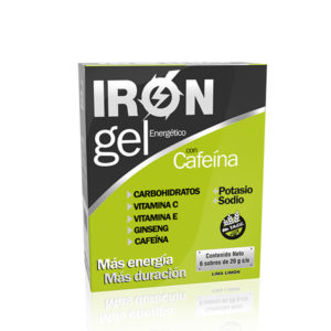 Iron Gel con Cafeína Lima Limón