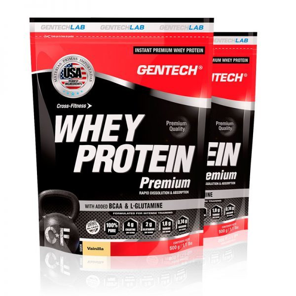 Whey Protein Premium Gentech Crossfit vainilla