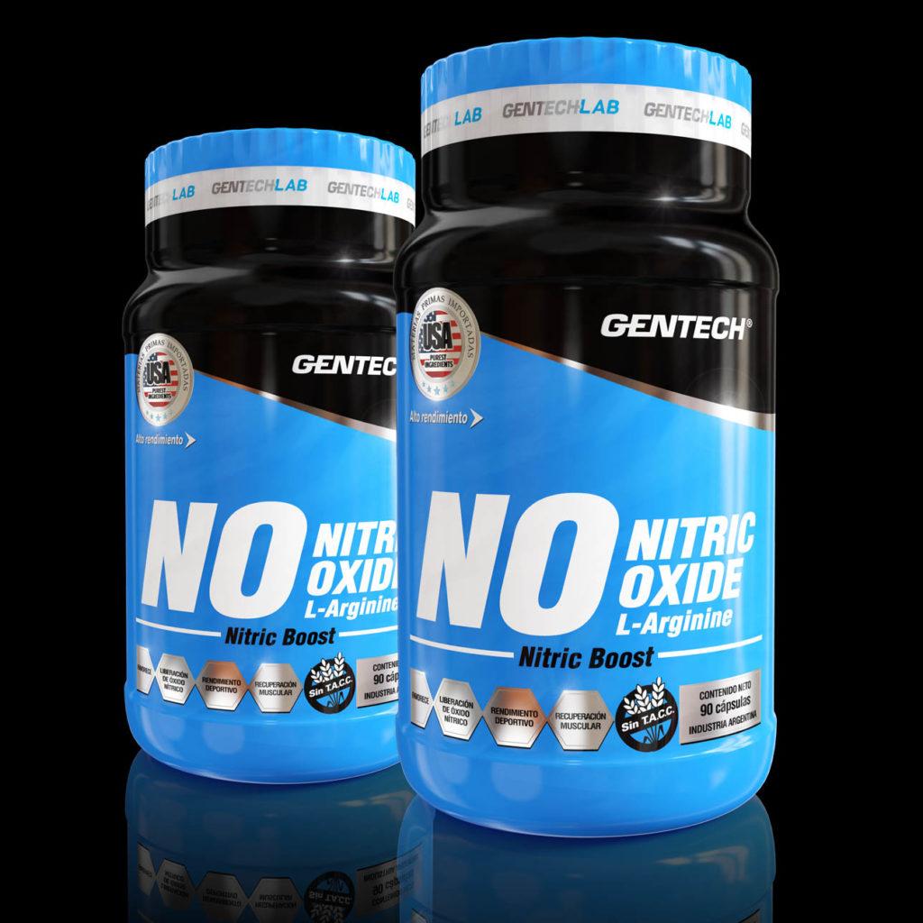 Oxido Nítrico de Gentech por 90 capsulas