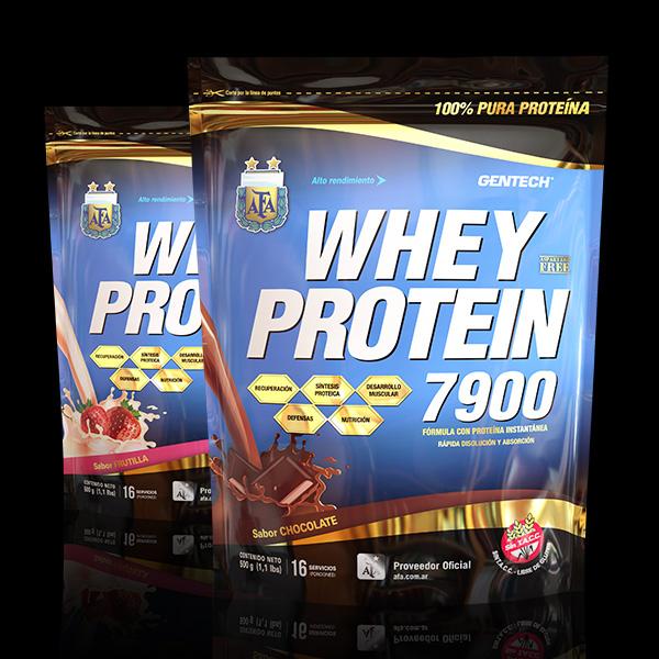 Whey Protein AFA 7900 Gentech Proteina