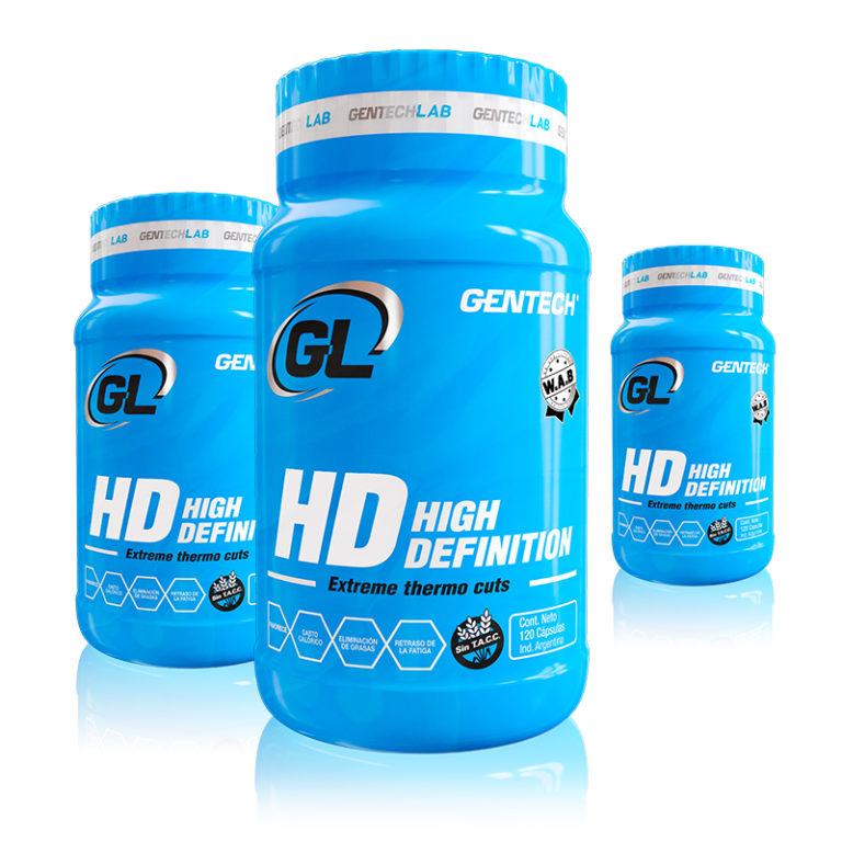 High Definition gran quemador de masa grasa sin perder masa muscular