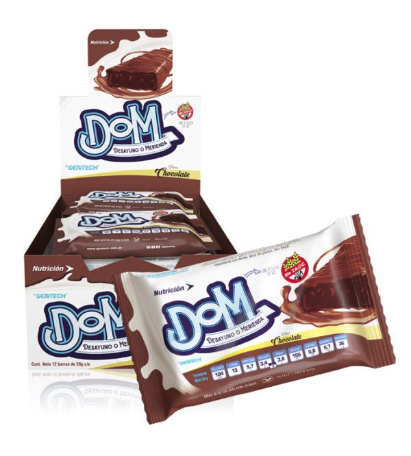 DOM Barra Nutricional con proteínas para niños Gentech