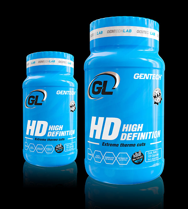 HD Gentech High Definition quemador de grasas control del apetito