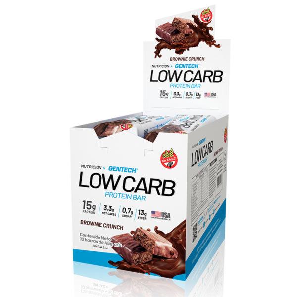 Lowcarb Gentech Barra proteica baja en Carbohidratos