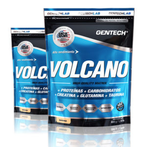 Volcano Gentech Proteinas Carbohidratos Creatina Glutamina Taurina