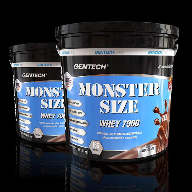 MONSTER SIZE-WHEY PROTEIN