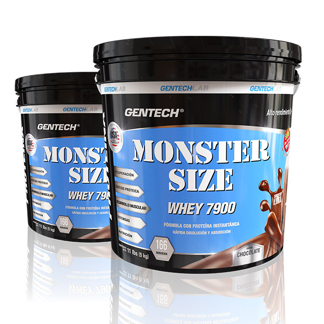 Monster Size Whey Protein Gentech