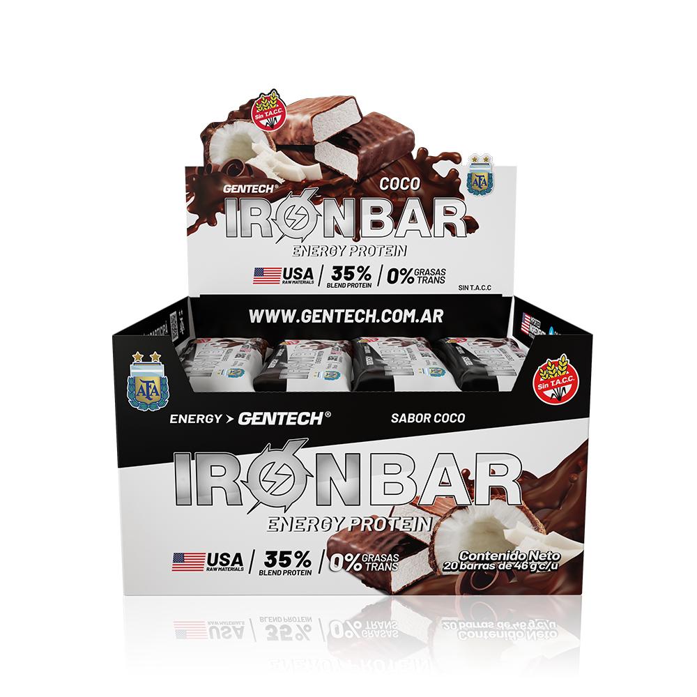 Promoción Iron bar x 20
