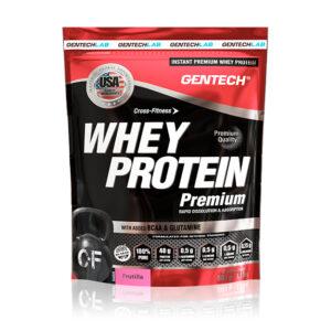 whey protein premium gentech con bcaa glutamina