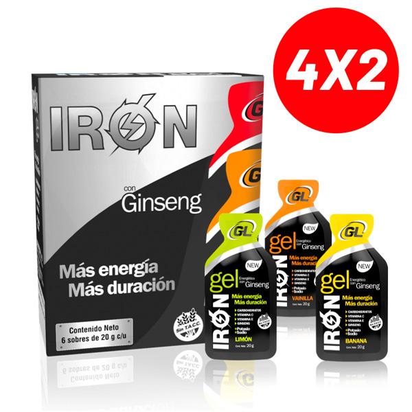 4x2 Iron Gel Gentech