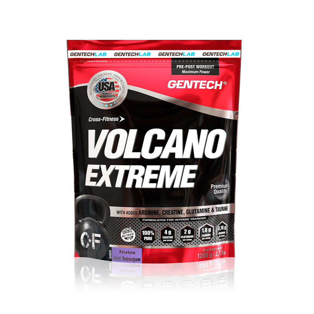 Volcano Extreme ganador de peso Gentech Suplementos Deportivos 10