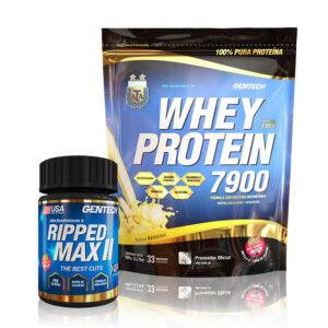 Combo Whey Protein AFA & Ripped Max II