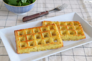 Waffles con Whey protein